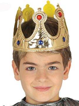 Corona Tela Rey Infantil