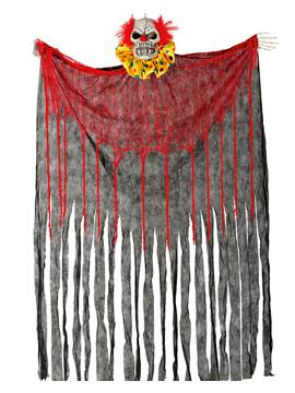 Cortina Payaso con Luz y Sonido 180 cm