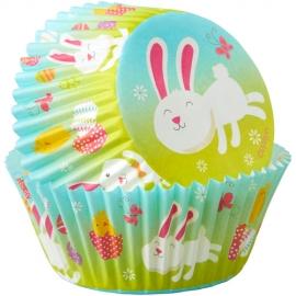 Cápsulas para Cupcakes Conejito de Pascua