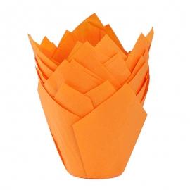 Cápsulas para Muffins Naranjas - Miles de Fiestas
