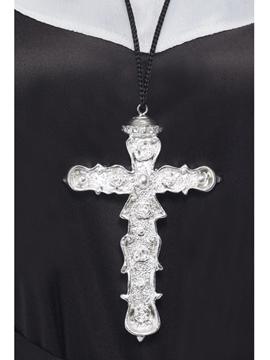 Crucifijo Plateado