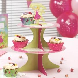 Cake Stand Reversible Fairy Princess