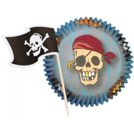 Cupcake combo Piratas