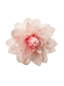 Dalia Gigante de Oblea de Color Rosa 12,5 cm