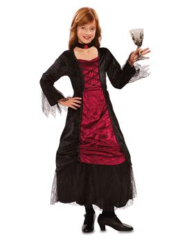 Disfraz Vampiresa Elegante Infantil
