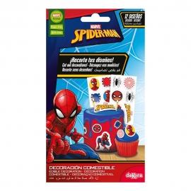 Decoración Comestible Recortable Spiderman