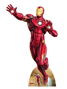 Decoración Photocall Iron Man Infinity War 190 cm