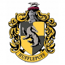 Decoración de Pared Emblema Hufflepuff Harry Potter 61cm