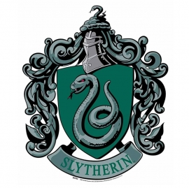 Decoración de Pared Emblema Slytherin Harry Potter 61cm​