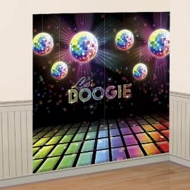 Decoración de Pared fiesta Disco