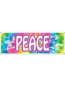 Decoración de pared Hippie - Peace