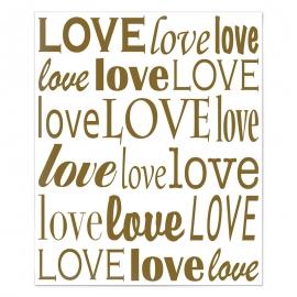 Decoración de Pared Love