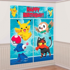 Decoración de Pared Pokémon