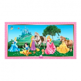 Decoración de Pared Princesas Disney