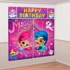 Decoración de Pared Shimmer y Shine