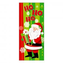 Decoración para Puerta Papá Noel