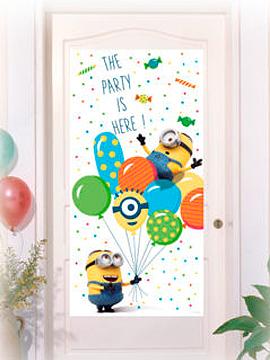 Decoración para Puertas Minions Party