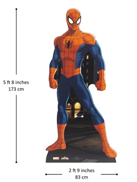 Decoración Photocall Ultimate Spiderman 179 cm