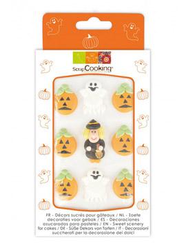 Decoraciones de Azúcar Halloween 9 ud