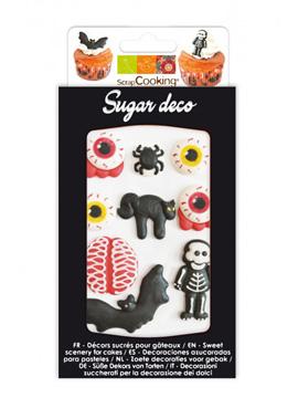 Decoraciones de Azúcar Horror 9 ud