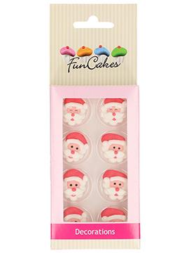 Decoraciones de Azúcar Santa Claus