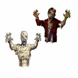 Decoraciones Zombie y Momia
