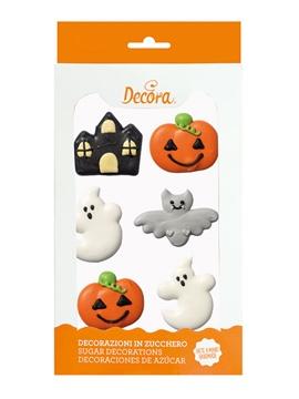 Decoraciones de Azúcar Halloween Fantasía