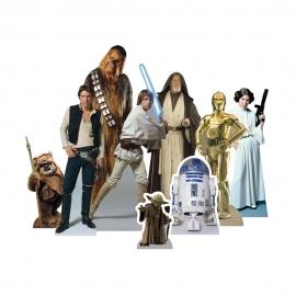 Set para Decoración de Mesas Dulces Star Wars Héroes