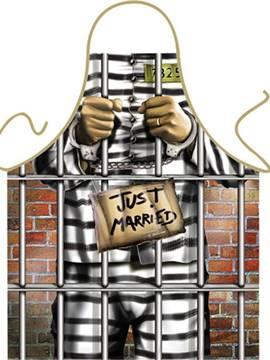 Delantal Recién Casado Cárcel