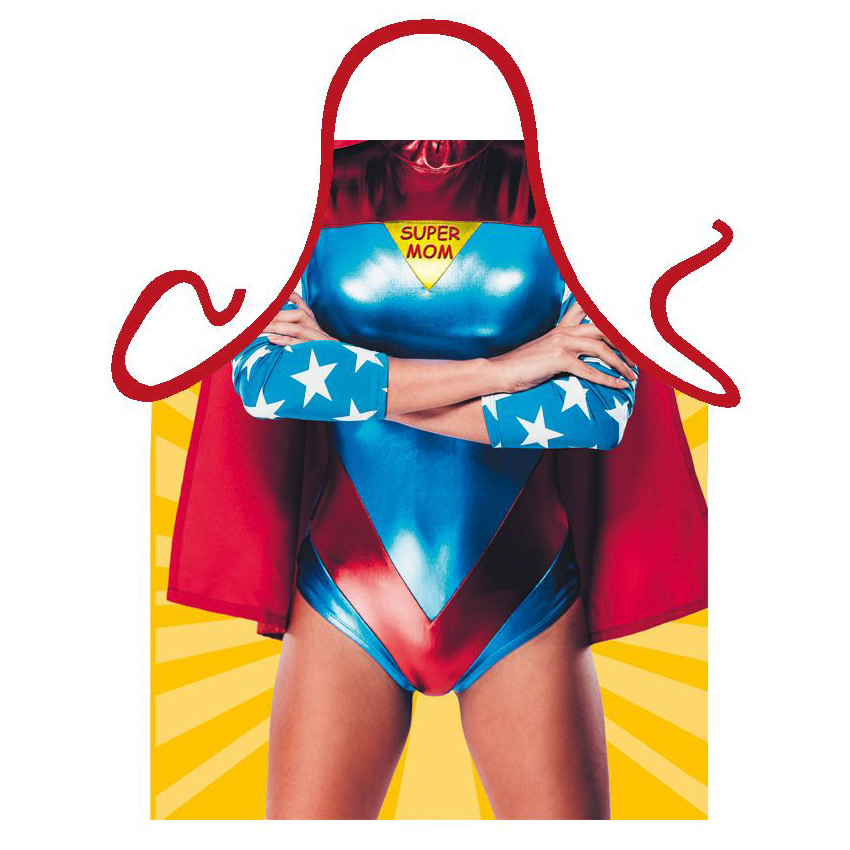 Delantal Super Mom