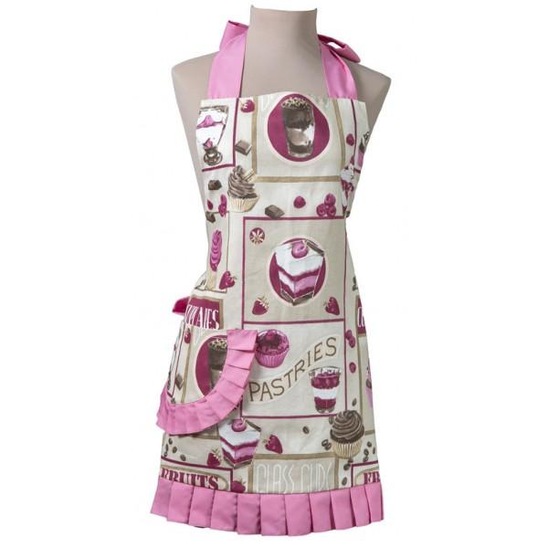 Delantal Vintage Helene Bakery Pink