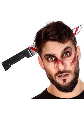 Diadema Cuchillo Ensangrentado Halloween