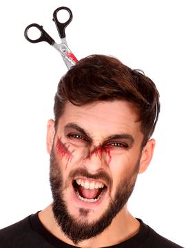 Diadema Tijeras Sangrientas Halloween