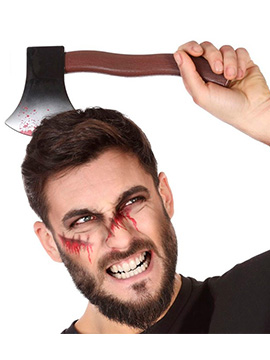 Diadema Hacha Sangrienta Halloween