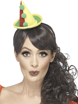 Diadema Mini Sombrero de Payaso