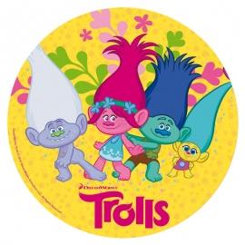 Disco de azúcar Trolls modelo b