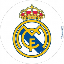 Oblea escudo Real Madrid 20cm