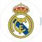 Oblea escudo Real Madrid 20cm