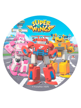 Disco de Oblea Super Wings Modelo A
