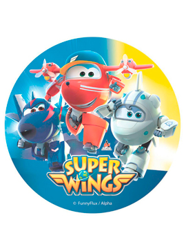 Disco de Oblea Super Wings Modelo B