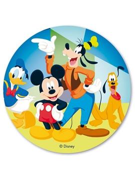 Disco de oblea Mickey Mouse 20cm