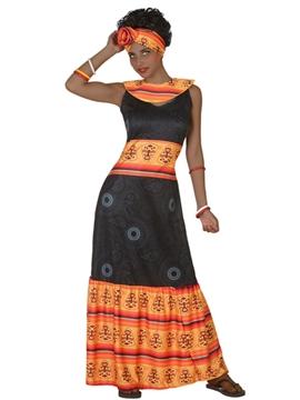 Disfraz Africana Adulto