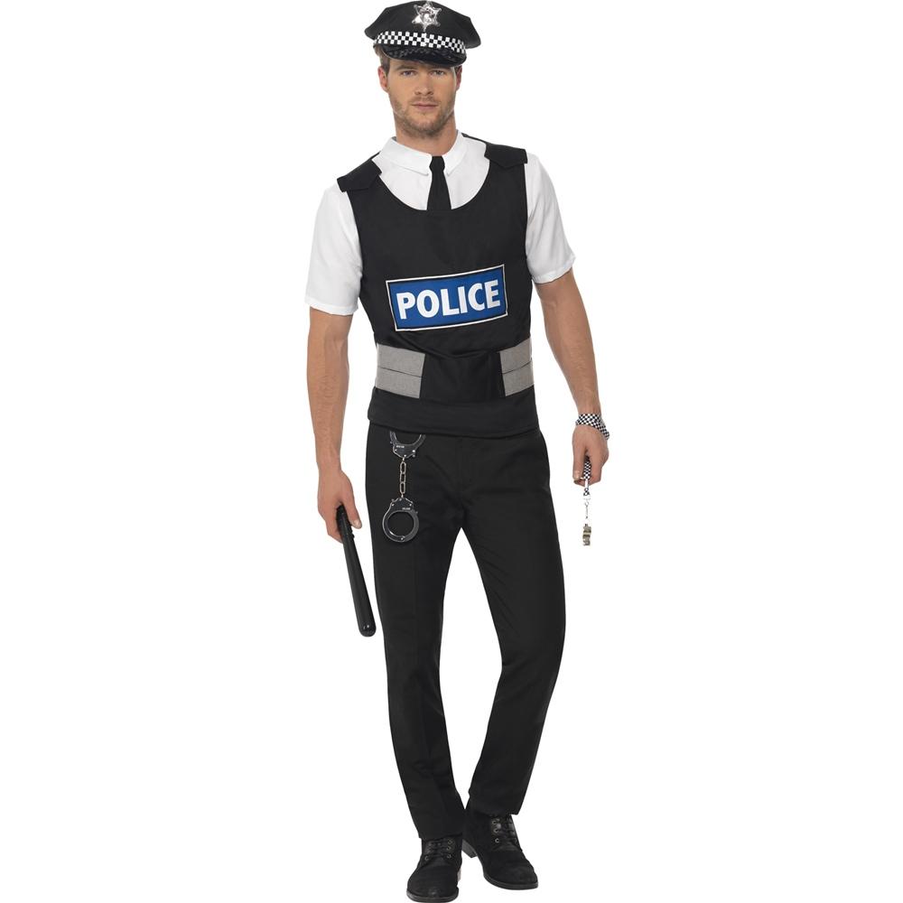 Disfraz Agente de Policía Hombre