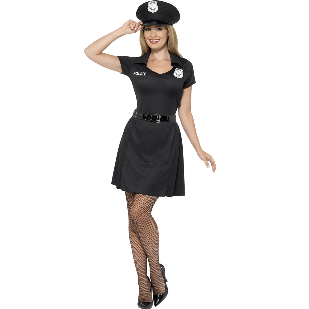 Disfraz Agente de Policía Mujer
