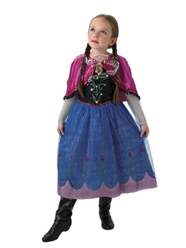 Disfraz Anna Frozen Música y Luz