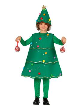 Disfraz Arbol de Navidad con LED Infantil