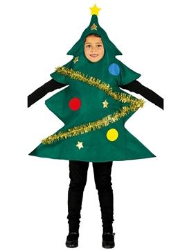 Disfraz Arbolito de Navidad Infantil