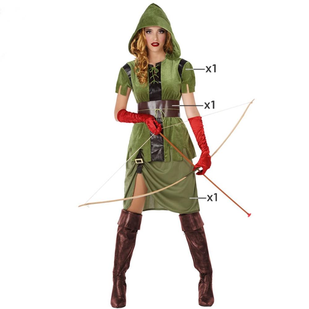 Disfraz Arquera Mujer