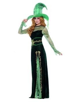 Disfraz Bruja Esmeralda Lujo Adulta