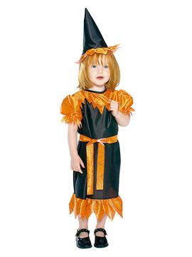 Disfraz Bruja Naranja Bebé
